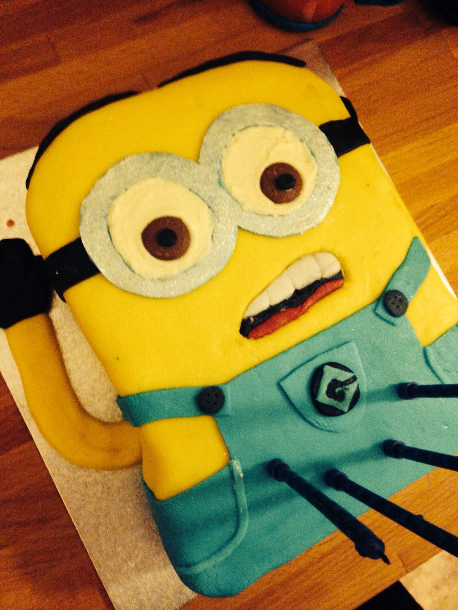 Minion Dave cake for my 4yos Birthday Birthday party ideas