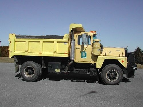 Listing All Trucks >> 1980 Mack Single Axle Dump Truck Listing 15328 Ends 4 9