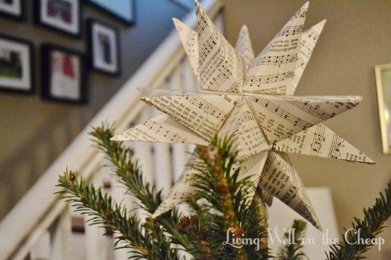 Diy Moravian Star Tree Topper Diy Christmas Star Diy Tree Topper Christmas Diy