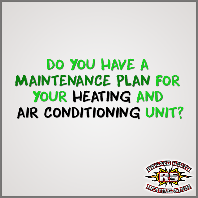 A Maintenance Plan For Your Heating And Cooling System Can Help