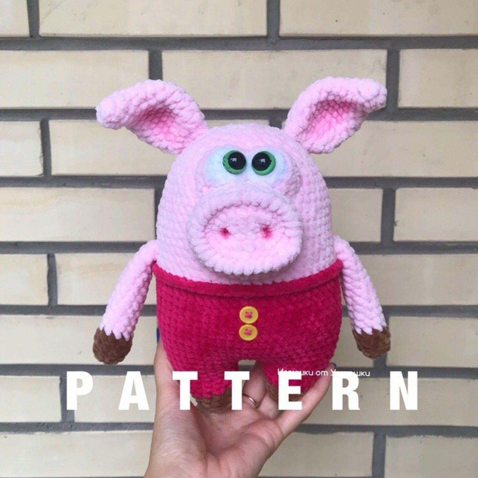 Amigurumi Piglet Free Crochet Pattern | Crochet patterns amigurumi ... | 1588x1588