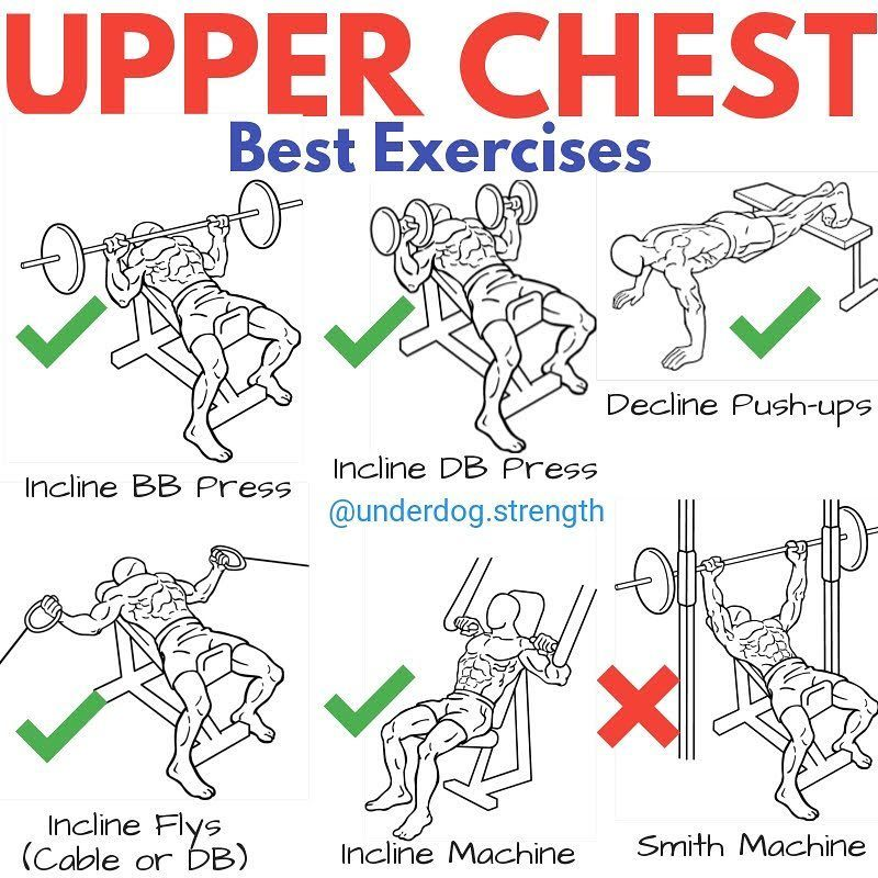 what works upper chest