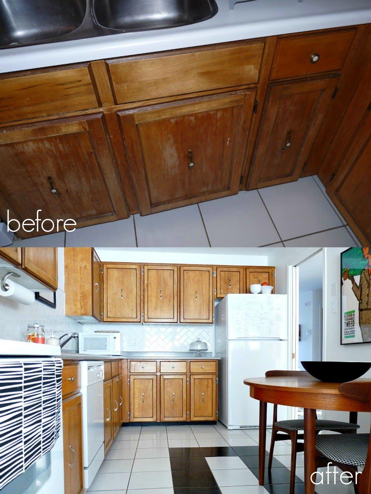 Dans Le Lakehouse Cabinet Refinishing Paint Vs Stain Vs Cabinet Coating Systems Refinishing Cabinets Wood Kitchen Cabinets Kitchen Cabinets