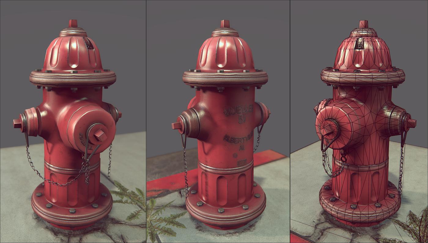 Benjamin Turner Fire Hydrant Hydrant Decorative Jars