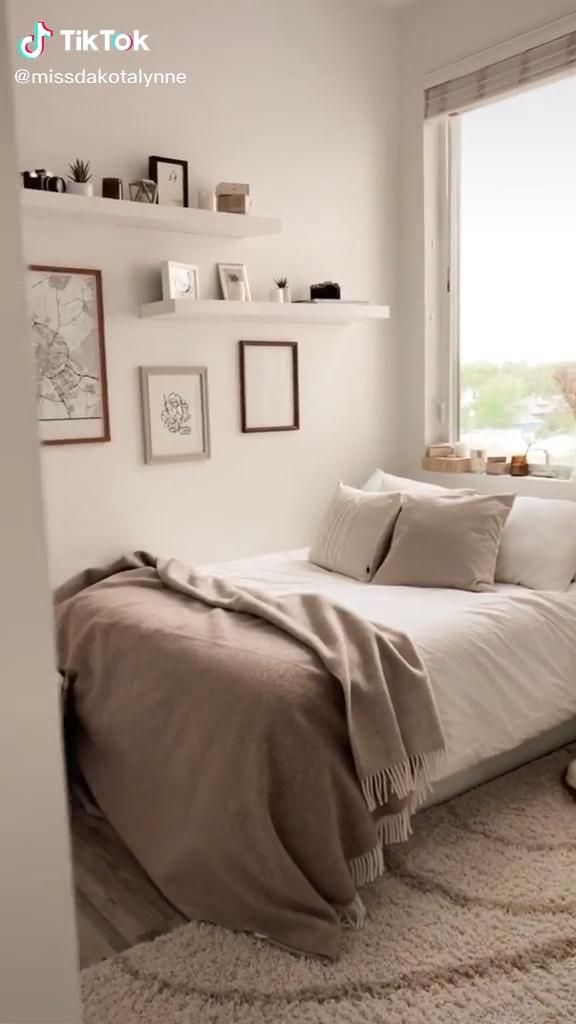 Photo of Aesthetic neutral bedroom ✨