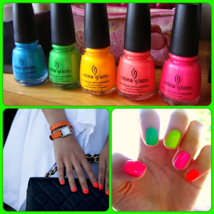 Neon Colored Nail Polish | Best Nail Designs 2018