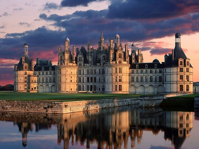 Chambord Castle. Photo by ardydesignart …wow, now THAT'S a castle =p