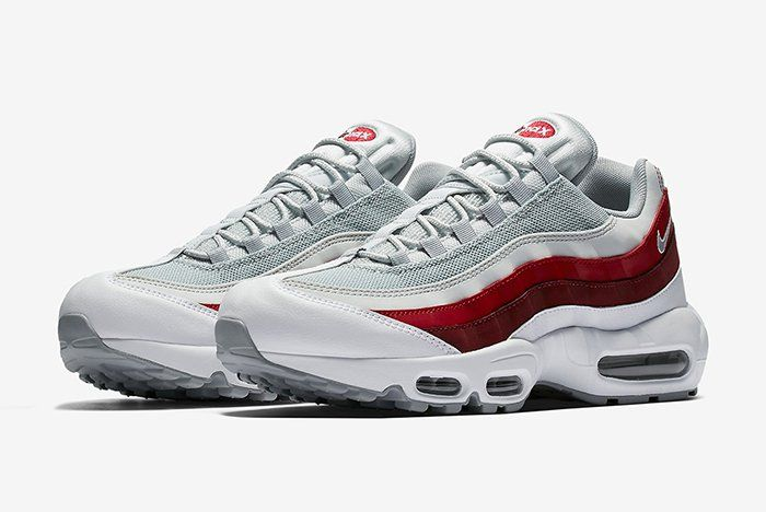 baskets pour pas cher 76c9e 443be Nike Air Max 95 (Team Red) | shoes in 2019 | Nike, Nike air ...