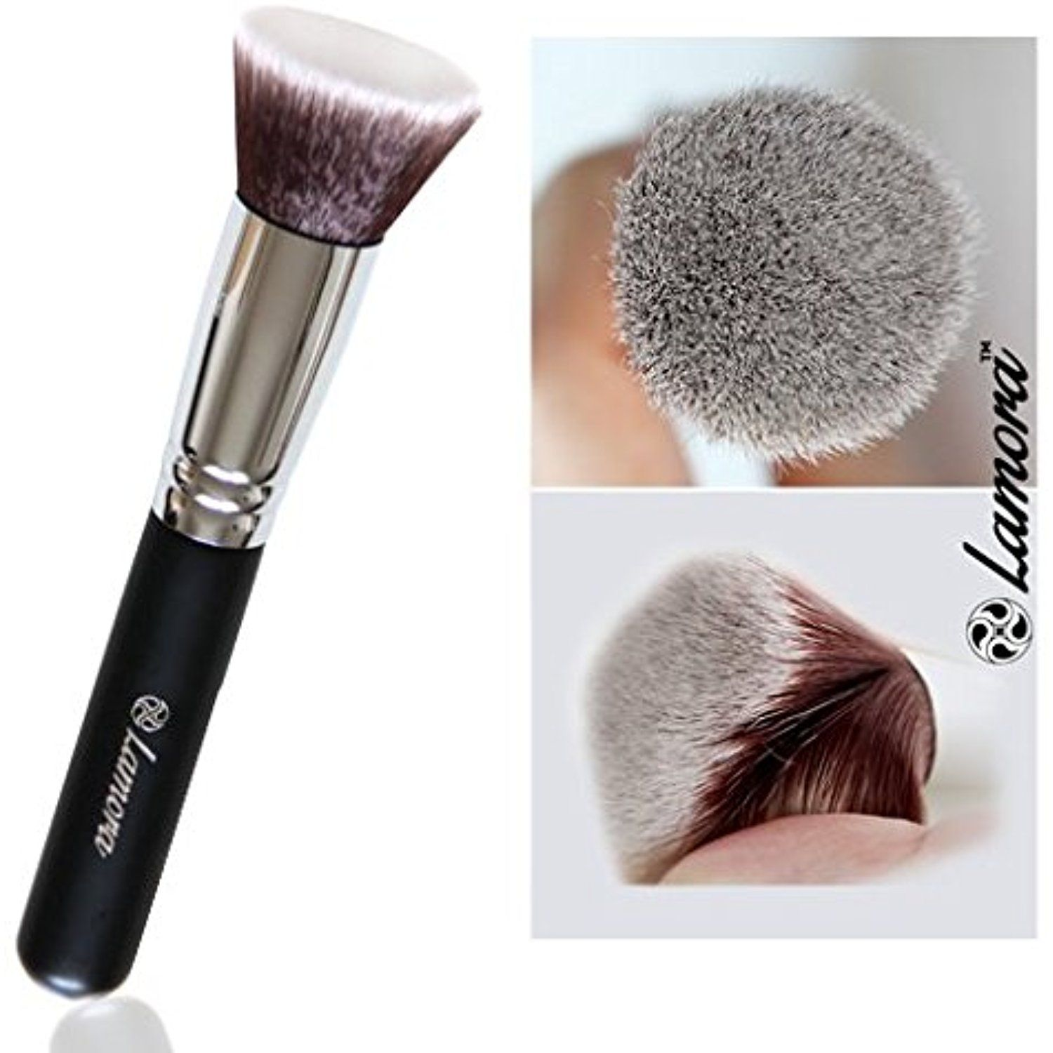 Foundation Makeup Brush Flat Top Kabuki for Face Perfect