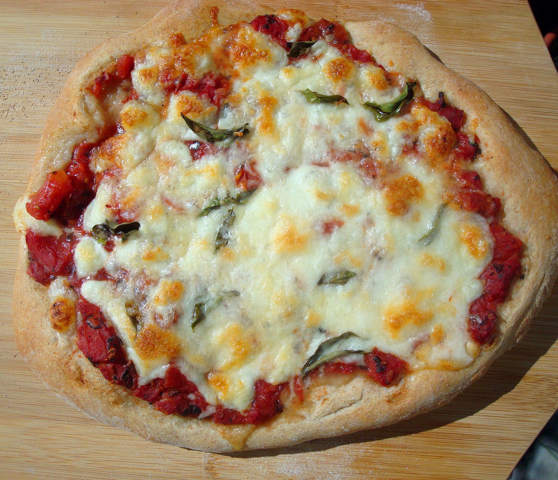 Love And Carbohydrates An Easy Artisan Pizza Recipe