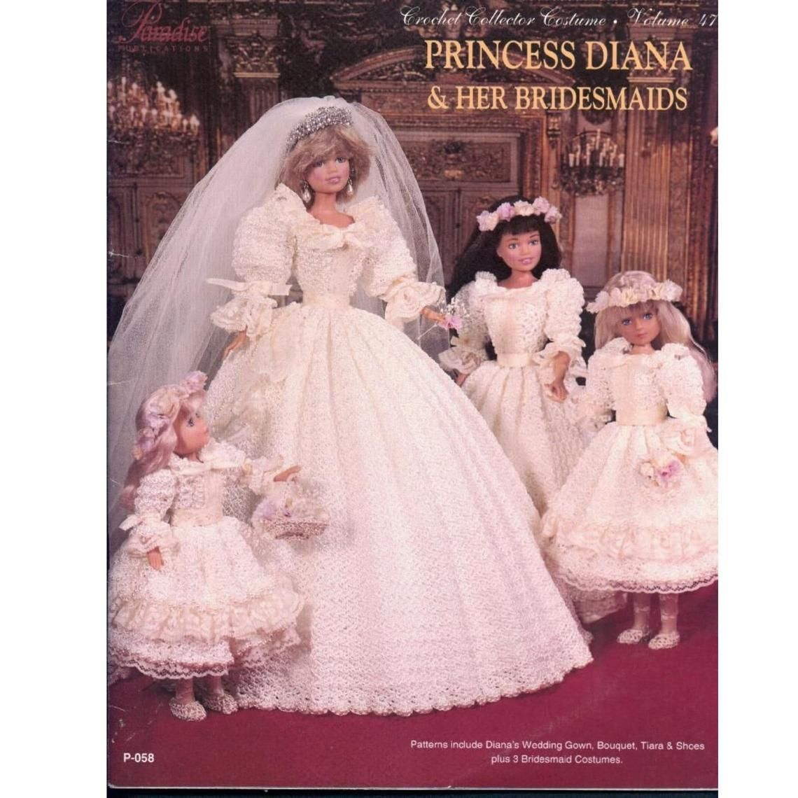 Digital Download Crochet Vintage Princess Diana 1989 Wedding Etsy In 2020 Princess Diana Barbie Wedding Vintage Princess [ jpg ]