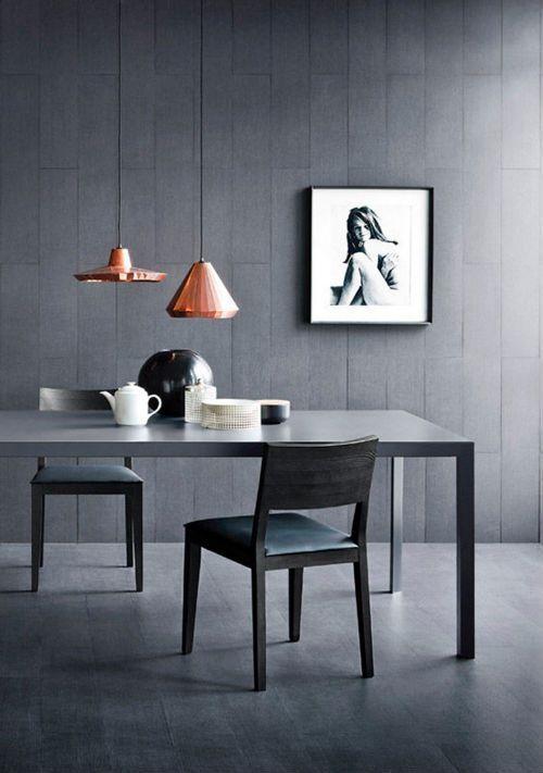 Back to Black / Schwarze Akzente in der Wohnung Room - wohnzimmer design schwarz