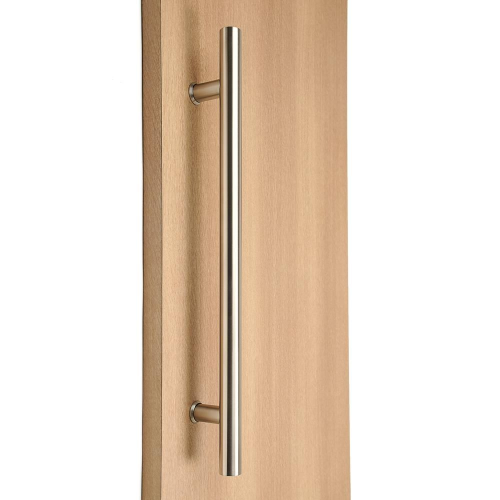 Strongar Ladder Style 36 In X 1 1 2 In Back To Back Brushed Satin Stainless Steel Door Pull Handle Door Pull Handles Stainless Steel Doors Door Pulls