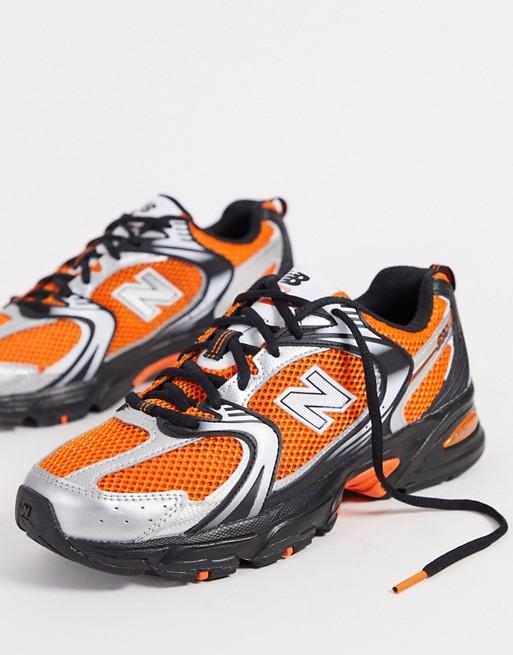 New Balance 530 trainers in Orange