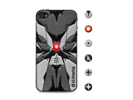 id America Cushi Robot iPhone 4S - Type B #danimobile
