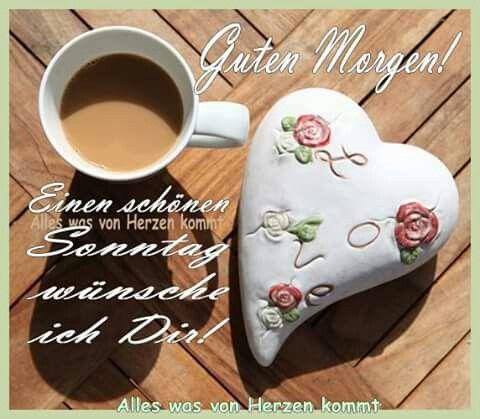 Guten morgen und schönen sonntag bilder