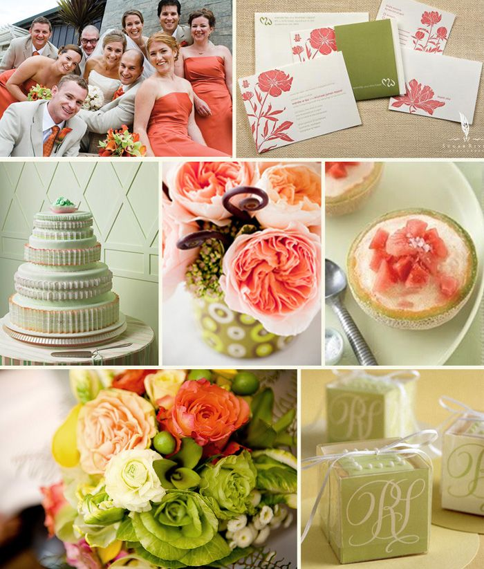 Coral, green, and navy | MY WEDDING | Pinterest | Wedding, Wedding ...