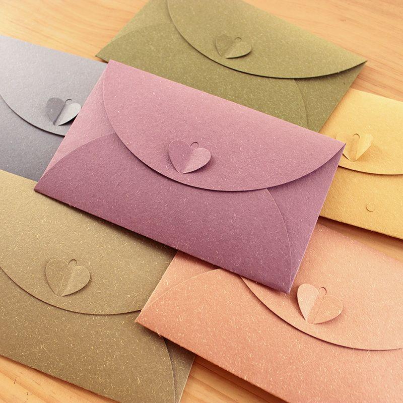 50 Sztukzestaw Kolorowe Koperty Dla Pielenie Zaproszenia Koperta
