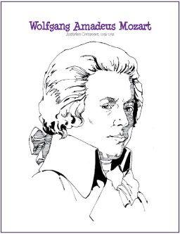 Johann Sebastian Bach Composer Coloring Page Http