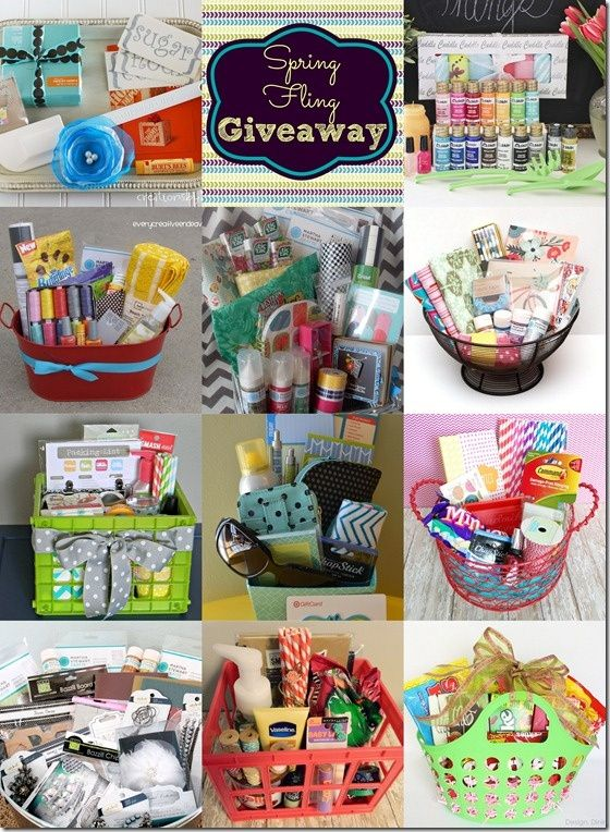 Gift basket ideas this pin also includes how to make a for Ideas for homemade christmas gift baskets
