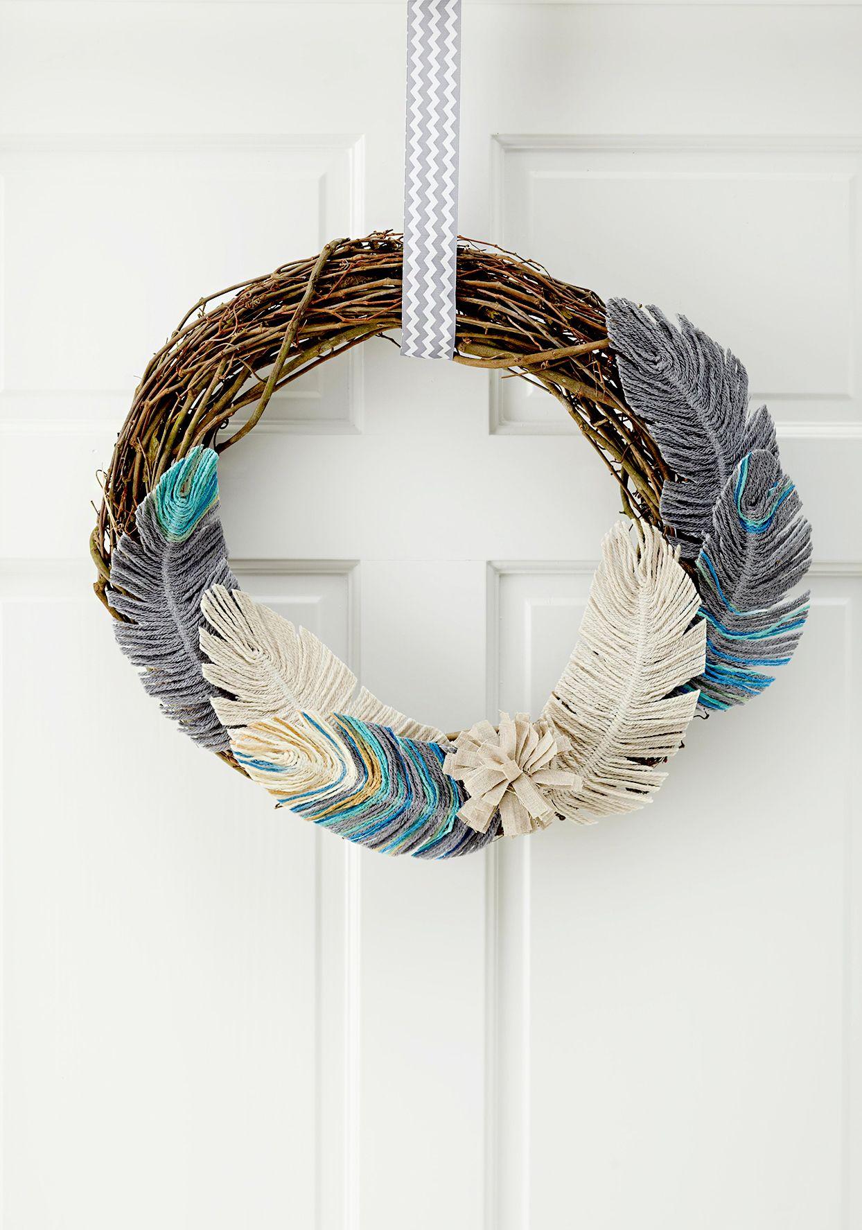 30 Modern Fall Wreath Ideas to Update Your Front Door ...