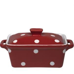 Red Casserole Dish