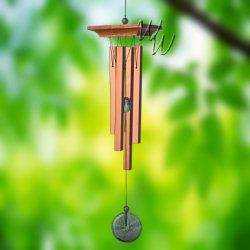 Woodstock Percussion 21 Inch Turquoise Chimes