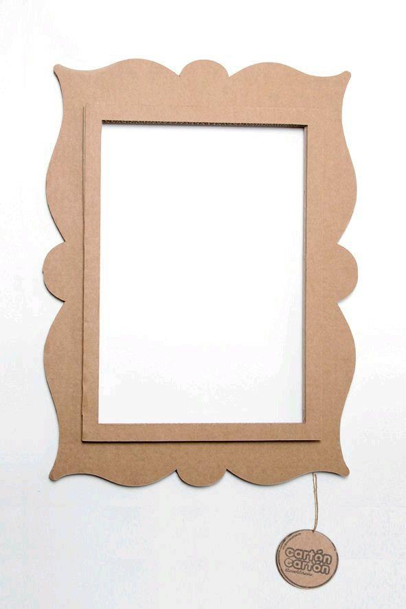 Marco para espejo | Ideas MDF | Pinterest | Marcos para espejos ...