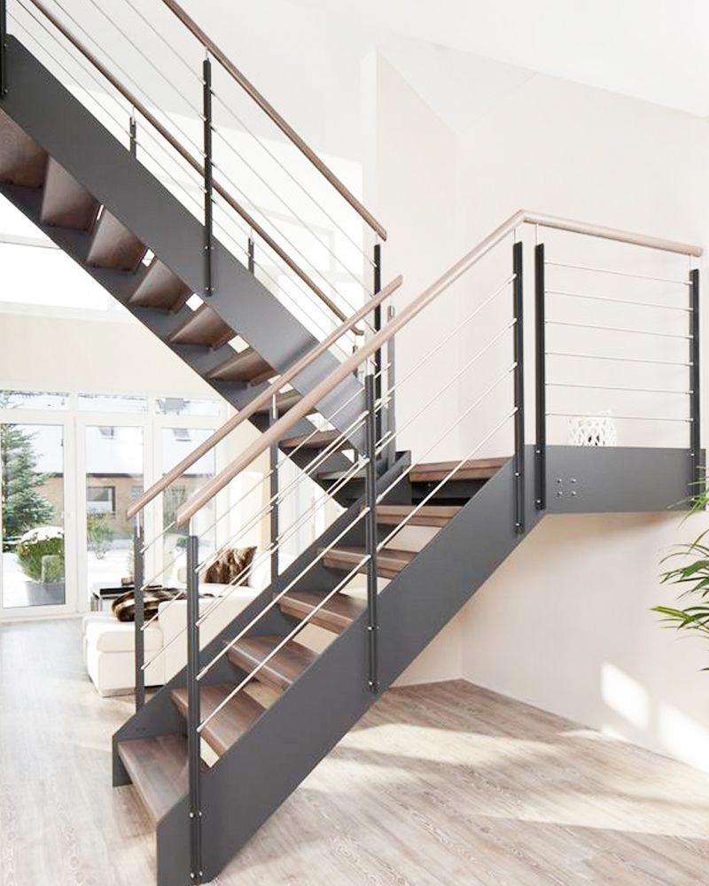 Adoptez Les Escaliers En Bois Et En Métal Pour Un