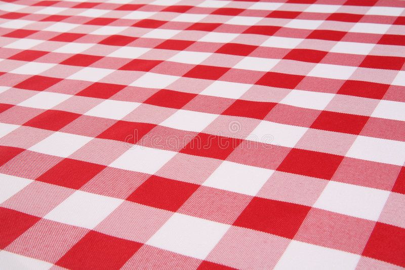 Plaid Tablecloth A Traditional Plaid Picnic Tablecloth Fabric