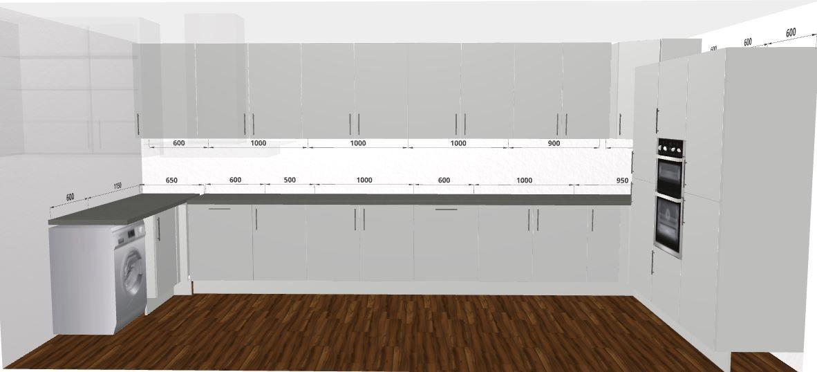 Sleek And Modern Kitchen Design Free 3d Kitchen Planner Small