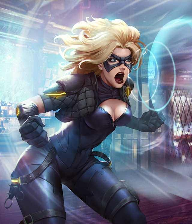 Black Canary by AndyPoonDesign on DeviantArt |Injustice Black Canary Drawing