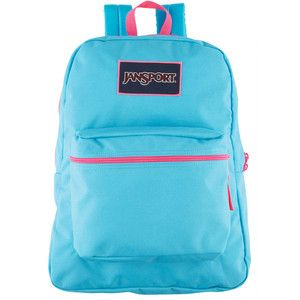 Jansport Blue Overexposed Backpack - Polyvore | Paige Backpack ...