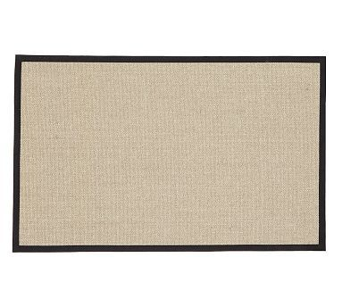 Custom Sisal Rug Silver Topaz Potterybarn Rugs On