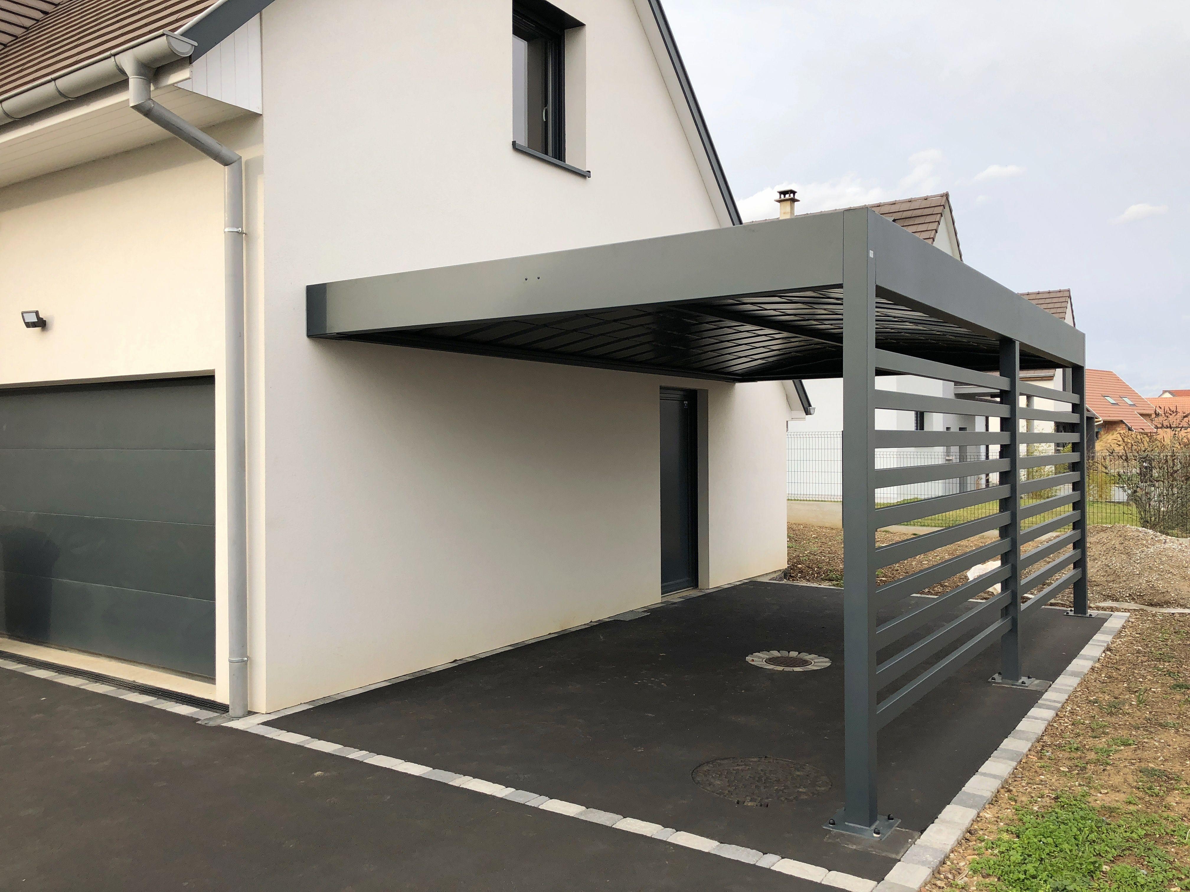 Vordach Auto In 2020 Carport Aus Aluminium Carports Wohnung Renovierung