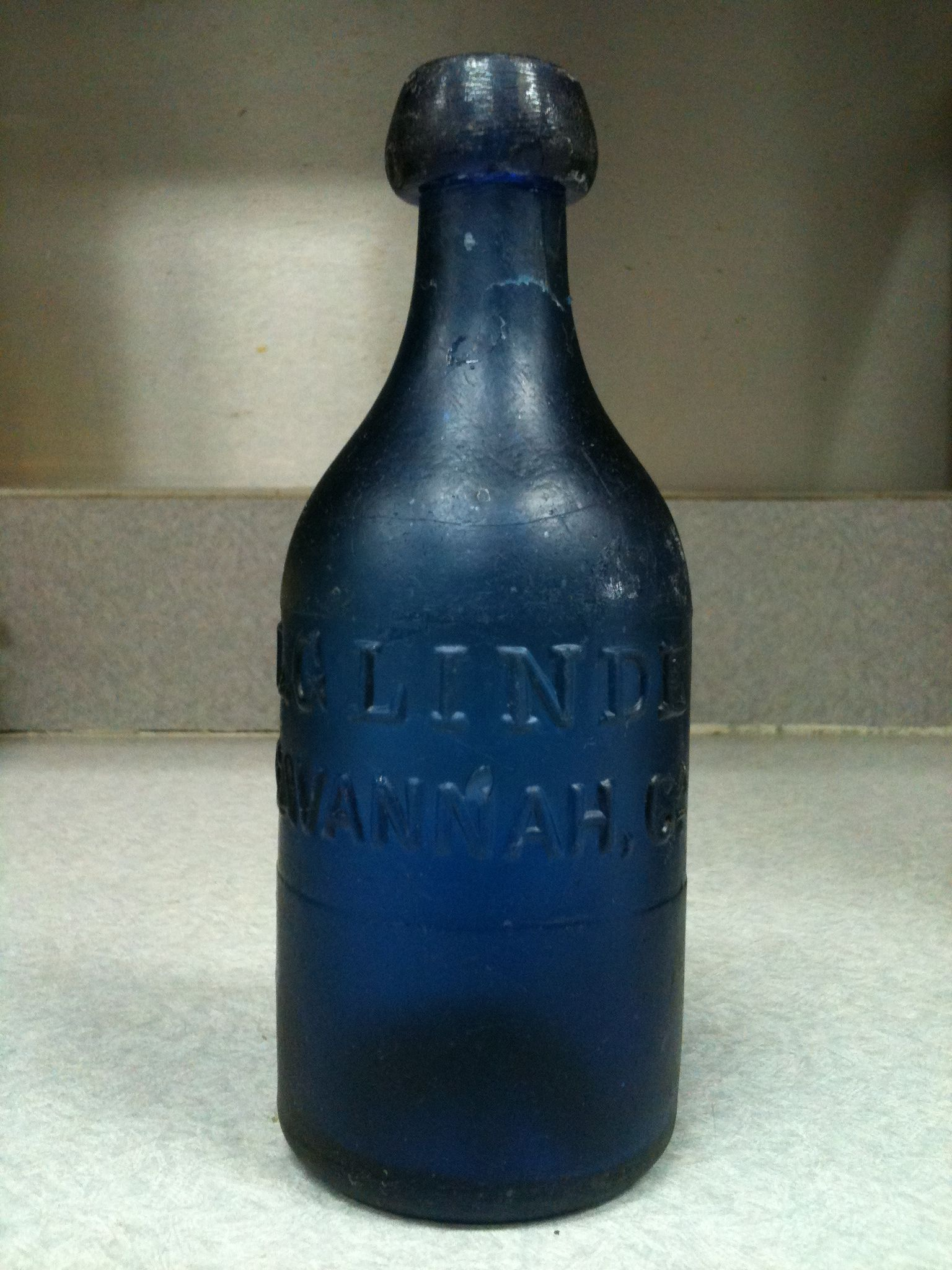 bottle georgia vintage in
