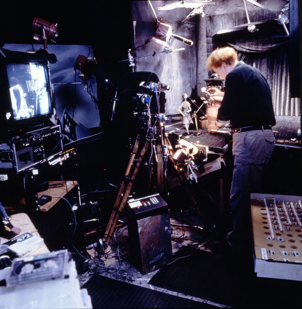 the nightmare before christmas behind the scenes - Buscar con Google ...