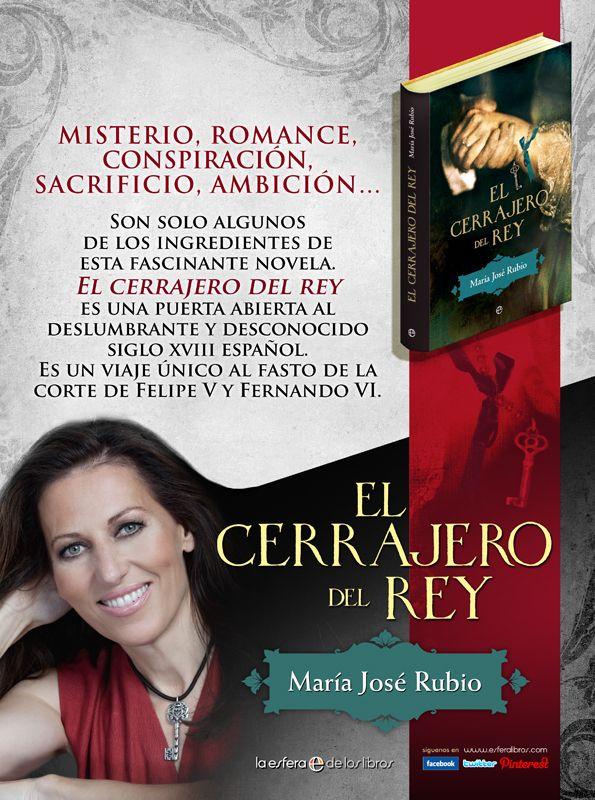 EL CERRAJERO DEL REY (La Esfera de los Libros), 2012. Interesante promoción en prensa.