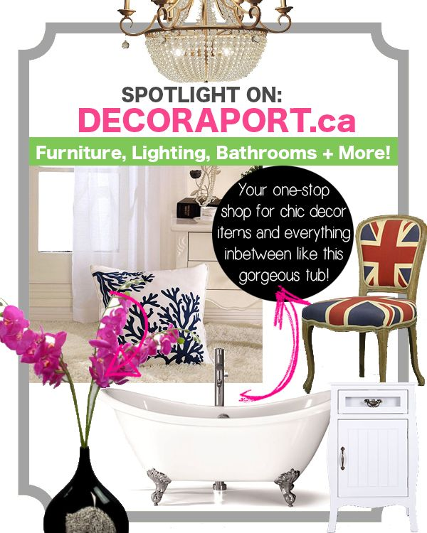 Today We Are Featuring Decoraport Canada A New Place To Home Decor Items Online