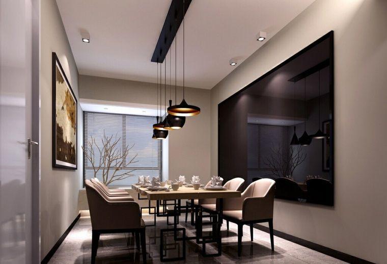 Éclairage design pour la table à manger en 65 idées Eclairage