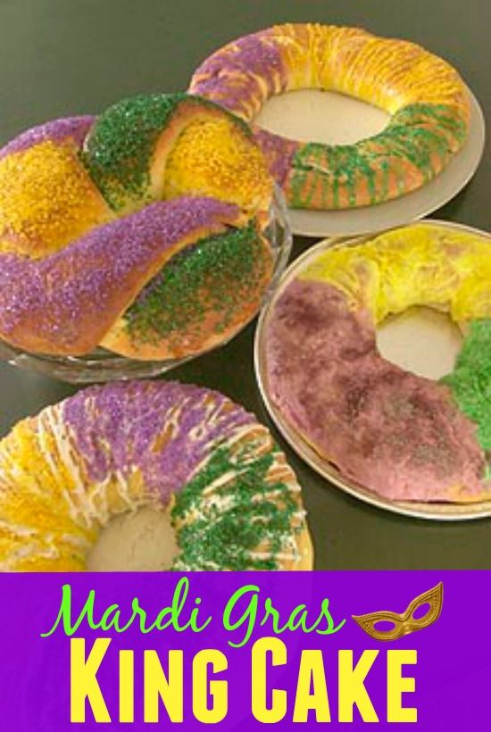 Easy King Cake Recipe With Cream Cheese Filling