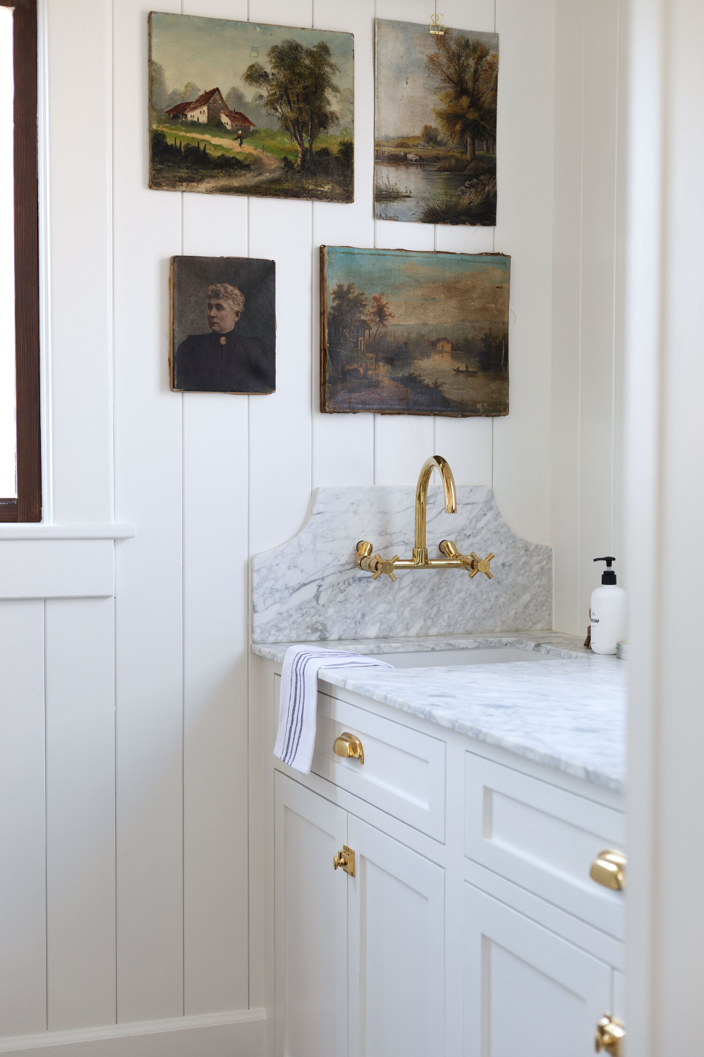 farmhouse butler's pantry reveal! — the grit and polish in 2020   diy remodel, countertops