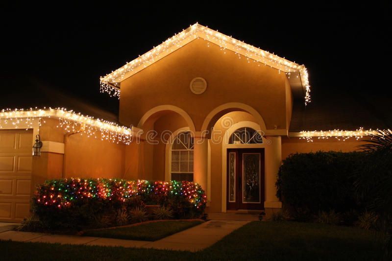 Christmas lights. On a house in central Florida #AD , #Sponsored