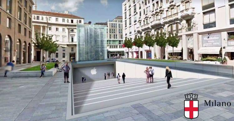Ecco come sarà il nuovo Apple Store di Milano [Video]