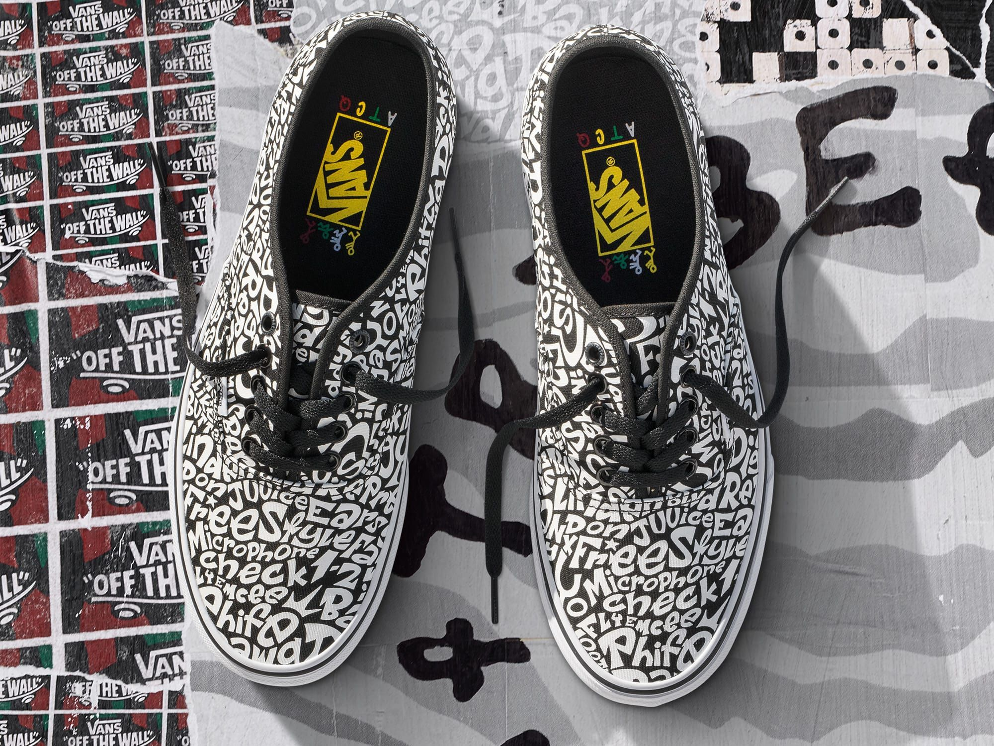 7765c6b7b7 A Tribe Called Quest x Vans Authentic