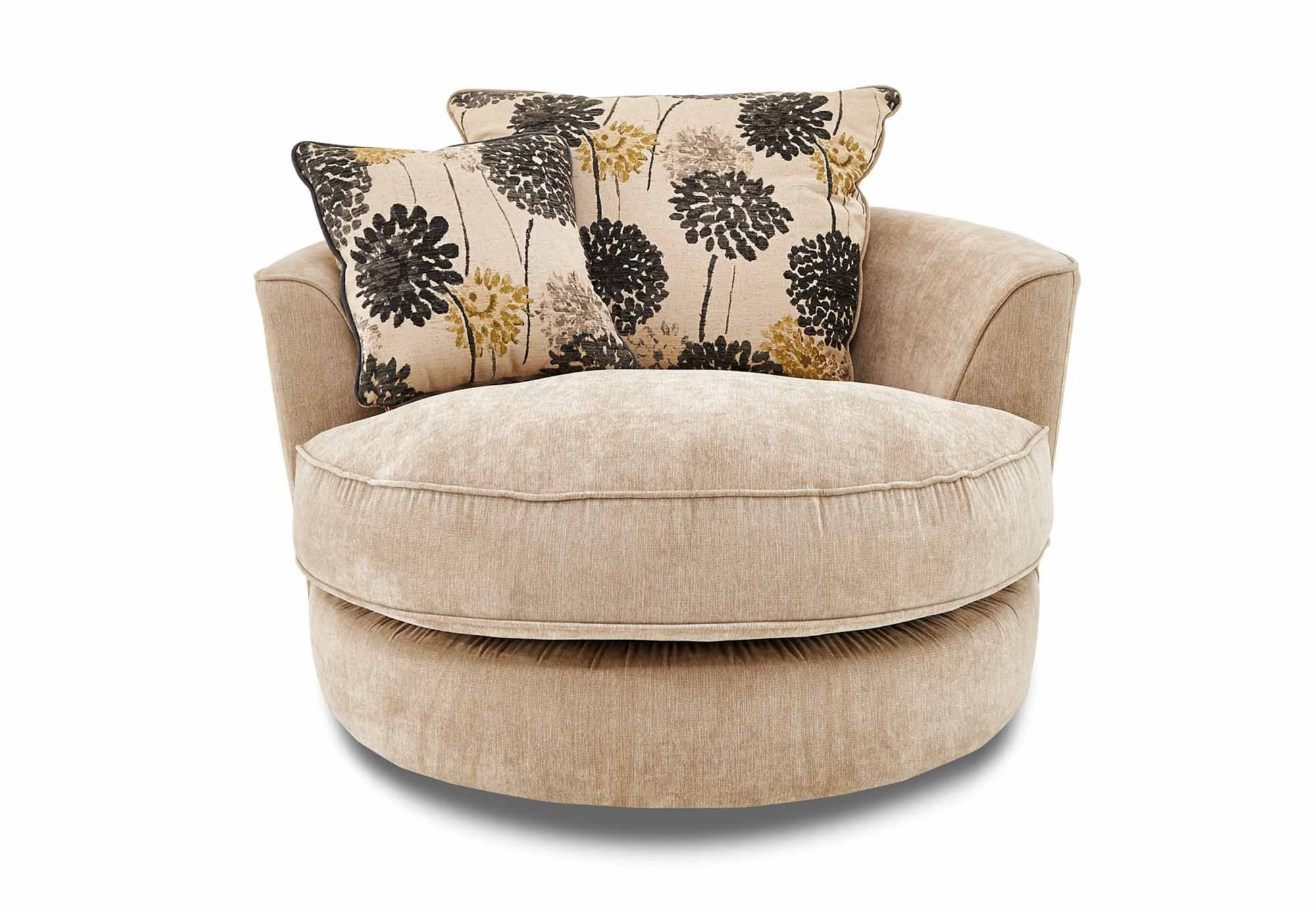 Buoyant Tangier Snuggle Swivel Chair at Furniture Village - Buoyant Tangier Upholstered Furniture at Furniture Village - Gorgeous Living Room Furniture from Furniture Village