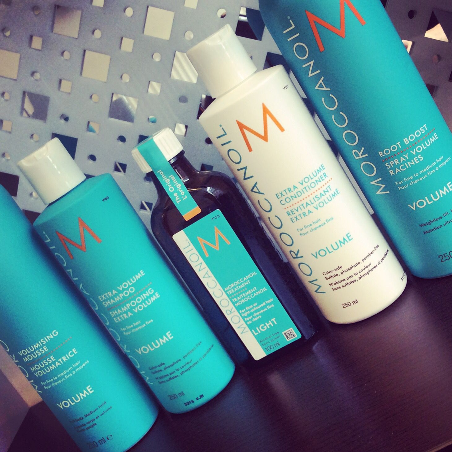 Pump up your hair with moroccanoil volumising collection