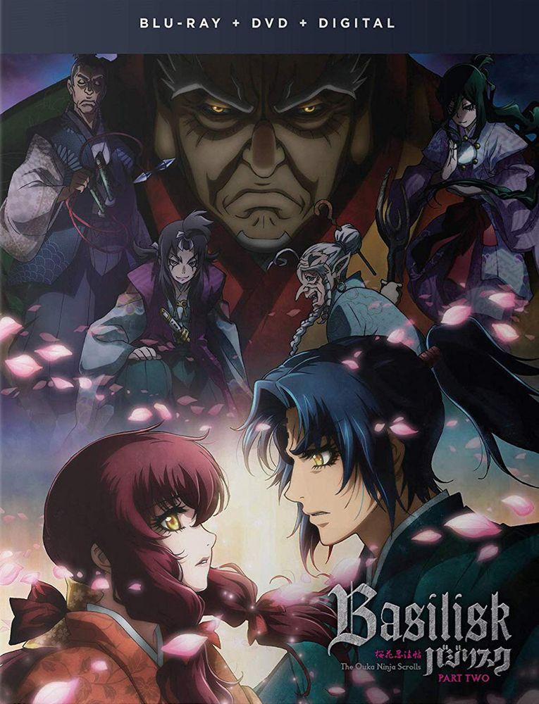 Basilisk The Ouka Ninja Scrolls Part Two Blu Ray Best Buy Anime Basilisk Anime Ninja Scroll Anime