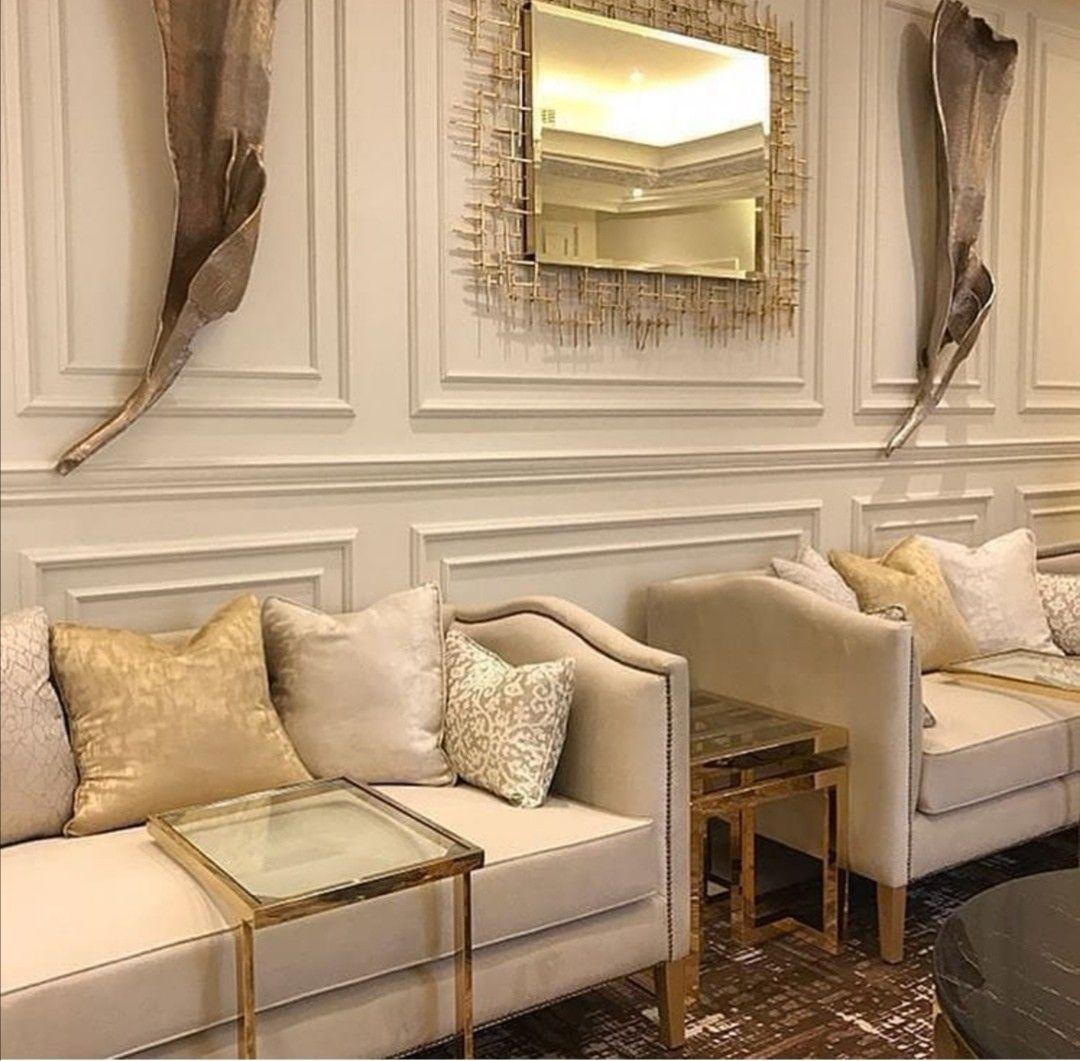Pin By Moneera S On صالات استقبال Home Design Living Room Living Room Design Decor Home Room Design