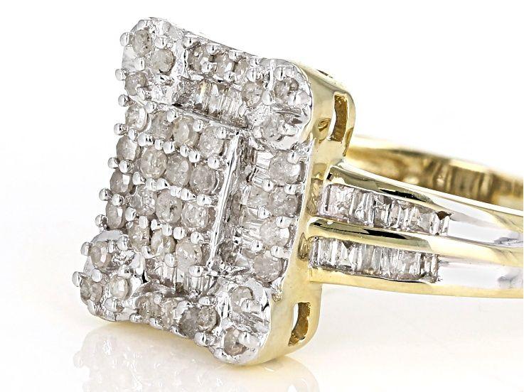 Diamond 10k Yellow Gold Ring .50ctw - MDG097 | JTV.com